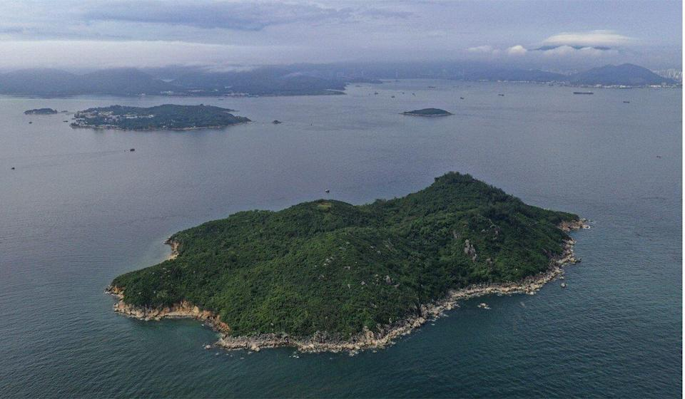 A mega reclamation project is planned for waters off Lantau. Photo: Martin Chan