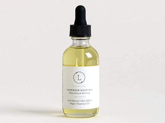 <p>Pamper your skin with the <span>Lavender Moisturizing Nourishing and Reviving Bath and Body Oil</span> ($25). You'll have silky-soft skin!</p>