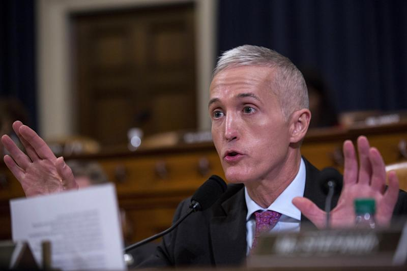 Mr Gowdy leads the committee launching the probe: Getty Images