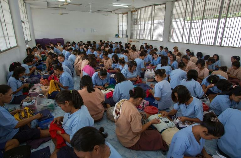 The Thai prison population stood at around 311,000 earlier this year, more than two and a half times the system's official capacity