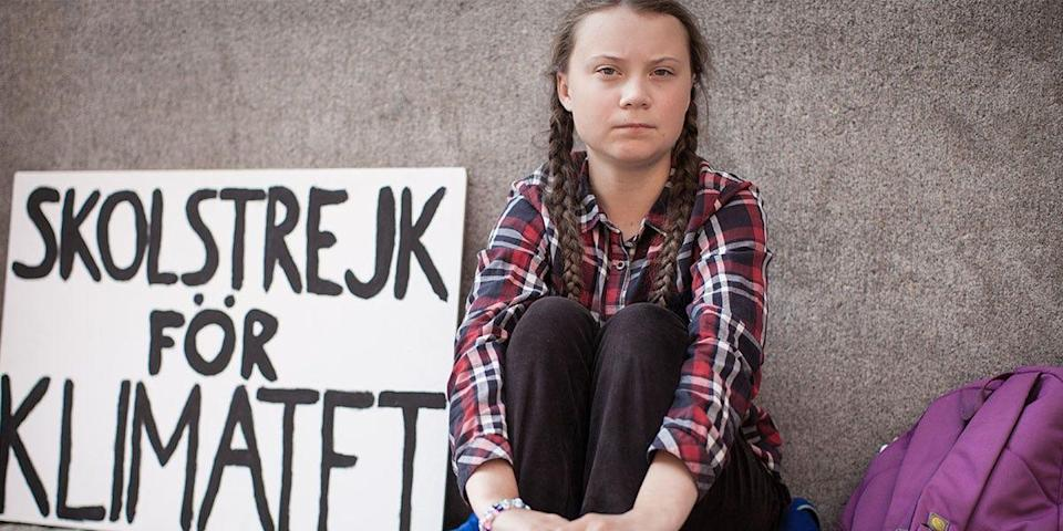 """Swedish teenager and influential climate-change activist Greta Thunberg is the subject of the new documentary """"I Am Greta."""""""