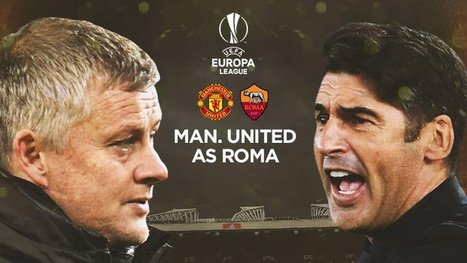 Liga Europa - Manchester United Vs AS Roma - Head to Head Pelatih (Bola.com/Adreanus Titus)