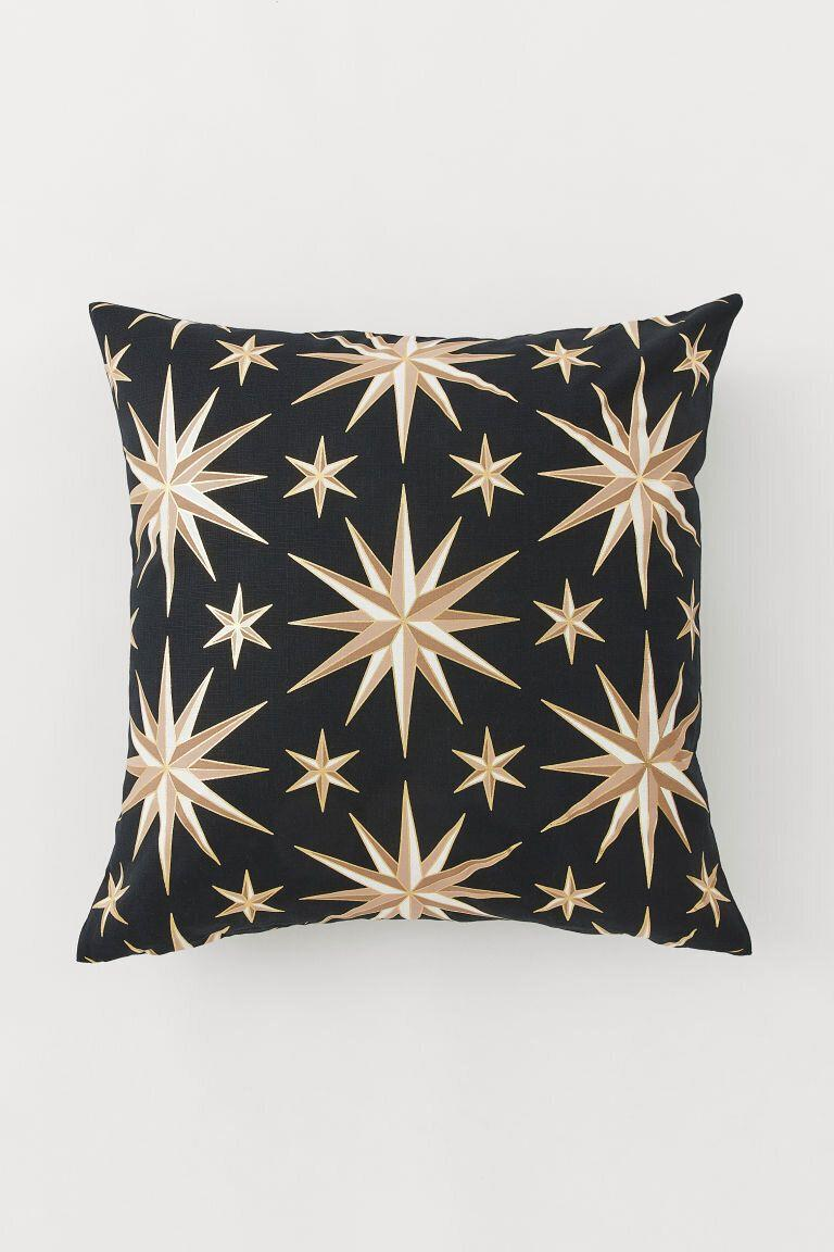 Patterned Cushion Cover, H&M (Photo: HuffPost UK)