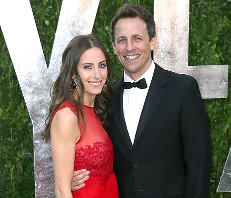 Seth Meyers Engaged to Girlfriend Alexi Ashe!