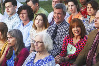 """<p><b>This Season's Theme:</b> """"The Hecks are running after the inevitable growing up of their kids,"""" series co-creator Eileen Heisler says. """"Their family as they know it might be headed for change, and Frankie's trying hard to hold on to the core group, which is the name of our first episode."""" <br><br><b>Where We Left Off: </b> Brick (Atticus Shaffer) graduated from junior high, Sue (Eden Sher) headed to Dollywood for a summer job, Frankie (Patricia Heaton) and Mike (Neil Flynn) spent the summer couch surfing after buying name brand batteries for the TV remote, and Axl (Charlie McDermott) met """"the love of his life."""" <br><br><b>Coming Up: </b> We'll meet Axl's dream girl too, as will the Hecks. """"He's very much smitten, kind of goofy,"""" Heisler says of Axl, whose girlfriend April will be played by <i>Awkward</i>'s Greer Grammer. """"But April will not be necessarily everything Frankie dreamed of for Axl. This romance causes a little friction in the household, between the family and Axl."""" Sue may get a new love interest in Season 8 too, though she's more immediately focused on a possible new career path, after having a showbiz (ish) experience in Tennessee. """"She got to spend two weeks as Girl in the Well, a featured performer, at Dollywood, which we'll see a little flash of,"""" Heisler teases. """"It makes her contemplate potentially changing her major."""" Meanwhile, Frankie's still working at the dental office, Mike's still working at the quarry, and Brick is starting high school, continuing to date Cindy, and learning how to swallow a pill. """"He only knows how to take squirt-y medicine,"""" says Heisler, """"so that'll be fun."""" <br><br><b>Rev. TimTom!: </b> <i>The Middle</i> does great holiday episodes, and this season will again include special celebrations for Halloween and Thanksgiving. Also returning: actor Paul Hipp's hip (ish), guitar-strummin', singing youth pastor, and this time he'll be helping Brick instead of Sue. """"Brick is learning how to drive, and there's a little misha"""
