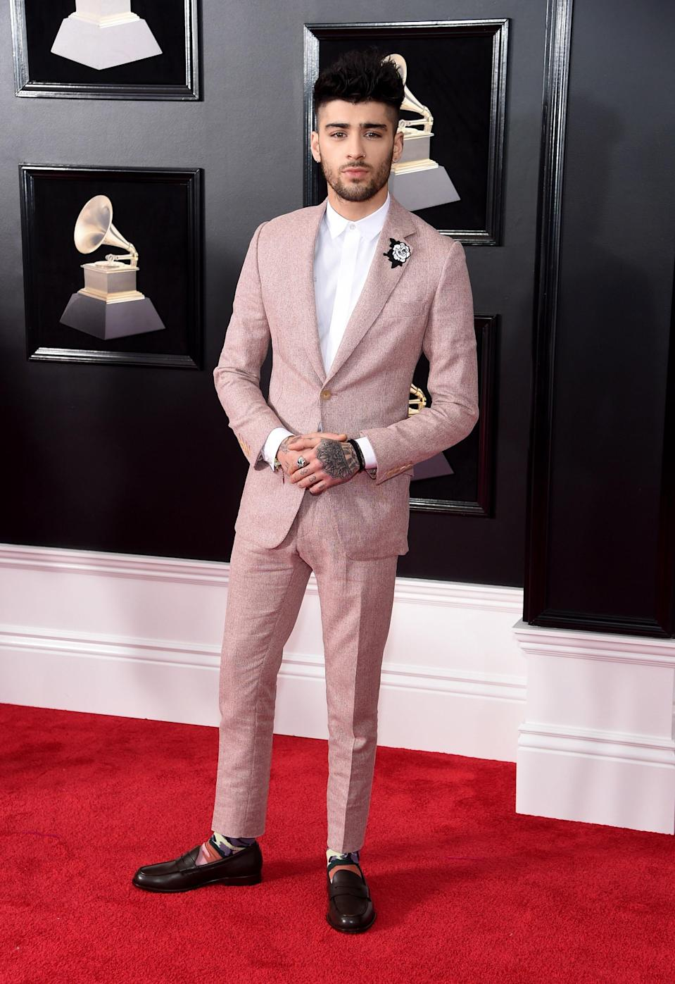"""<h1 class=""""title"""">Zayn Malik in Richard James</h1><cite class=""""credit"""">Photo: Getty Images</cite>"""