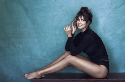 Delta Goodrem has unveiled a dramatic new look that matches her sexy new single Think About You. Source: Supplied