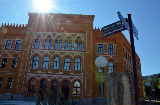 File photo of the United World Colleges school in the southern town of Mostar, Bosnia. Kim Han-Sol, grandson of the late reclusive North Korean leader Kim Jong-Il, is studying in Bosnia