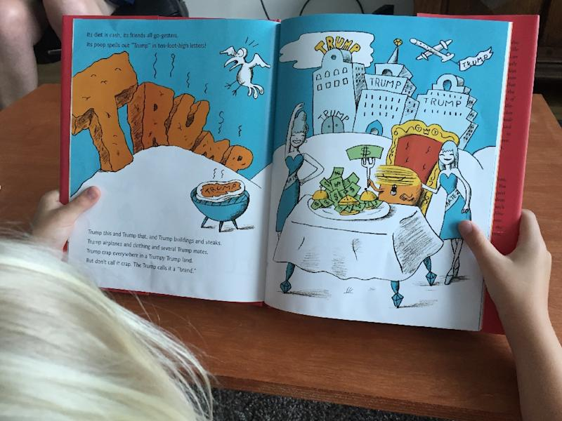 Mommy, who's that? Satirical kids' book explains Trump phenomenon