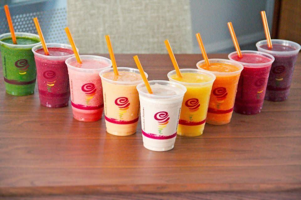 So artificial and so sugary. You can't call these things smoothies.