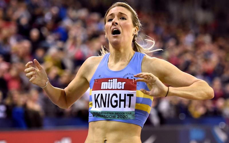 Wake, walk the dog, go to work, train, shower, eat and go to bed – meet Jessie Knight, the primary school teacher with Olympic dreams - PA