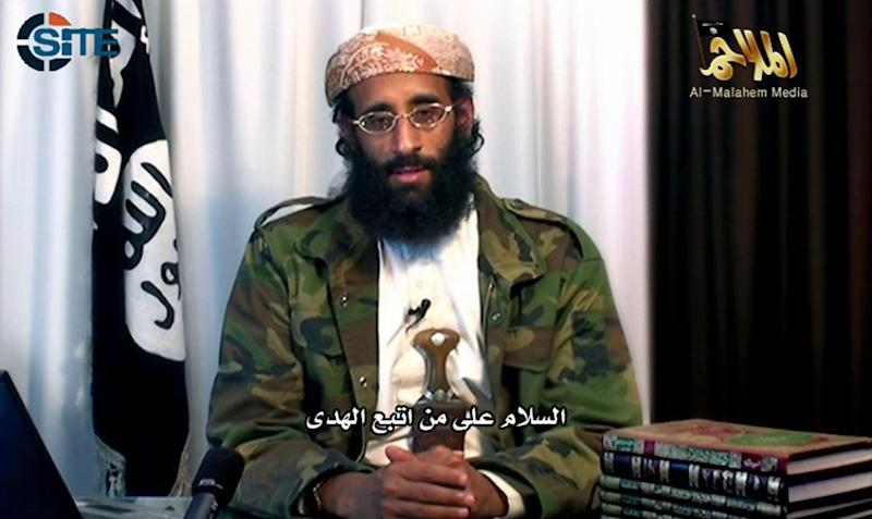 Anwar al-Awlaki seen in a video clip released by SITE Intelligence Group in December 2011 (AFP Photo/)