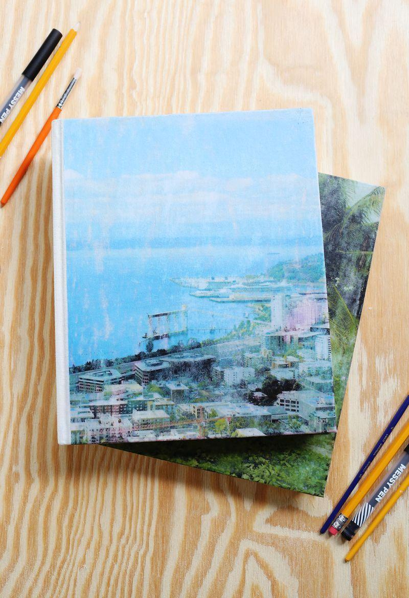 """<p>Dress up a traditional journal with a beautiful photo of a meaningful memory, whether it be a landscape from a vacation or an old Christmas family photo. She'll love the memories.</p><p><em><strong>Get the tutorial from <a href=""""https://abeautifulmess.com/2015/09/fabric-photo-transfer-journals.html"""" rel=""""nofollow noopener"""" target=""""_blank"""" data-ylk=""""slk:A Beautiful Mess"""" class=""""link rapid-noclick-resp"""">A Beautiful Mess</a>.</strong></em></p><p><strong><a class=""""link rapid-noclick-resp"""" href=""""https://www.amazon.com/inches-NoteBook-Handmade-Fabric-Binding/dp/B07BPVMYXY/ref=sr_1_5?tag=syn-yahoo-20&ascsubtag=%5Bartid%7C10063.g.34832092%5Bsrc%7Cyahoo-us"""" rel=""""nofollow noopener"""" target=""""_blank"""" data-ylk=""""slk:SHOP FABRIC JOURNALS"""">SHOP FABRIC JOURNALS</a></strong></p>"""