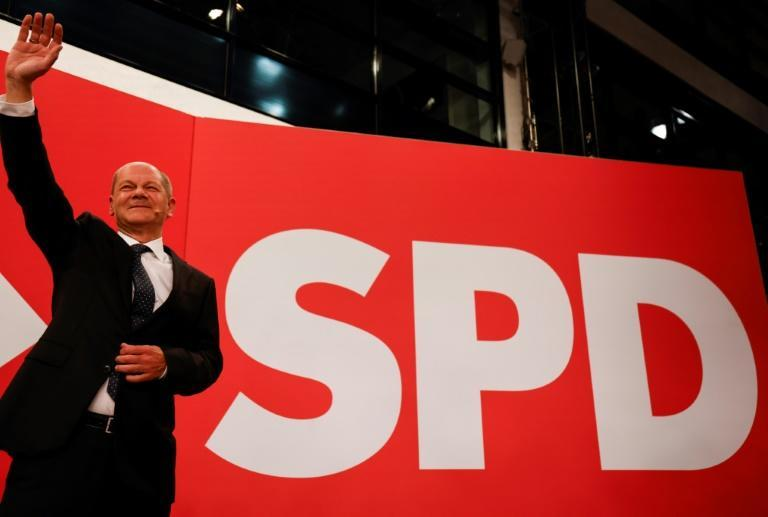 The centre-left Social Democrats' Olaf Scholz ran an error-free campaign that cast him as a safe pair of hands (AFP/Odd ANDERSEN)