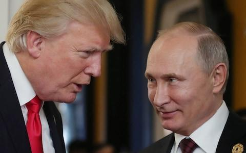 <span>The KGB/FSB has been building its file on Trump since he first visited Moscow in 1987</span>