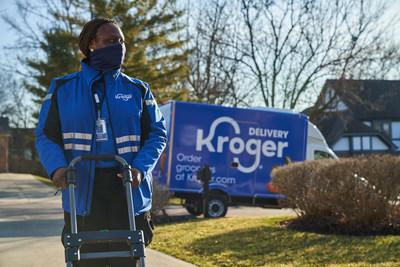Kroger transforms grocery delivery with introduction of first-of-its-kind technology in the U.S. developed by Ocado.