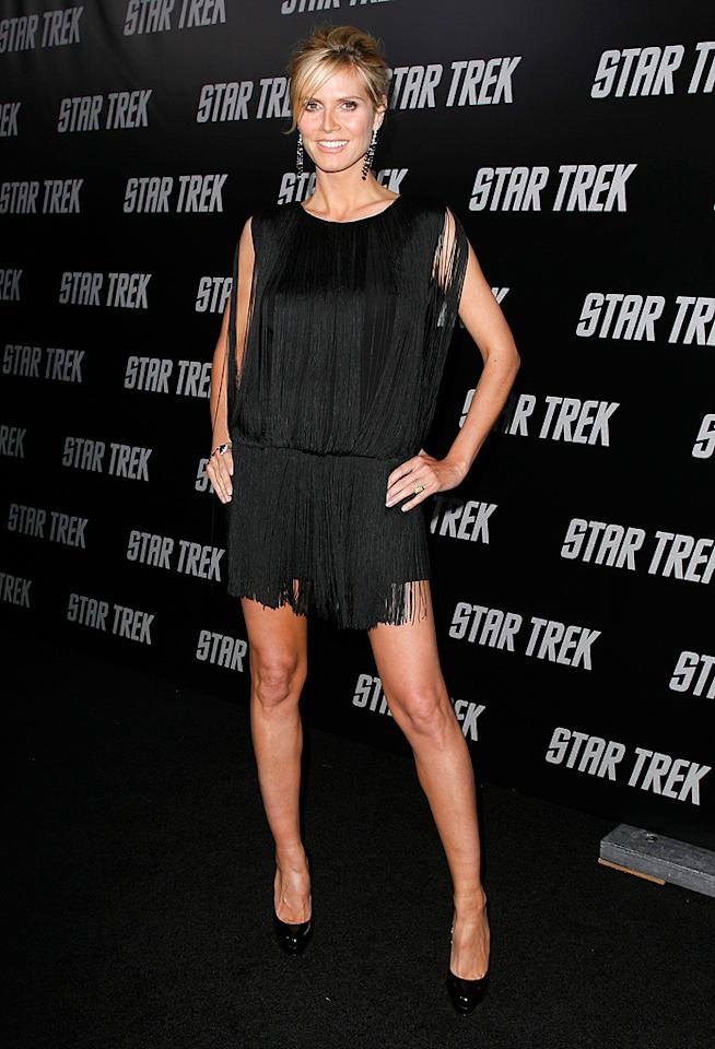 "<a href=""http://movies.yahoo.com/movie/contributor/1804328244"">Heidi Klum</a> at the Los Angeles premiere of <a href=""http://movies.yahoo.com/movie/1809752801/info"">Star Trek</a> - 04/30/2009"