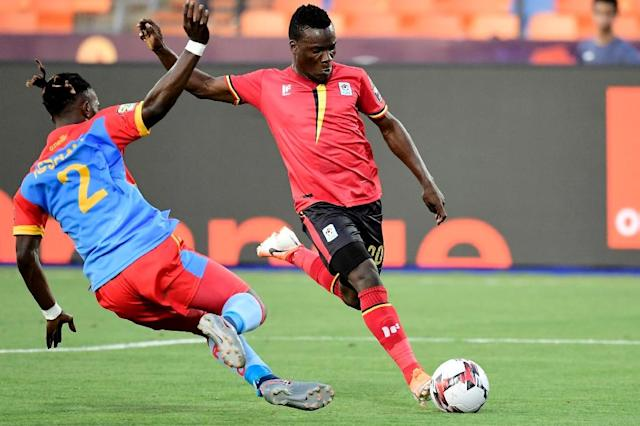 The Congolese suffered a surprise loss to Uganda (AFP Photo/JAVIER SORIANO)