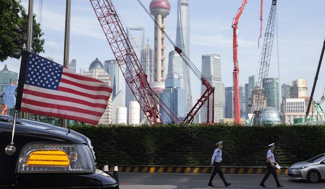 Negotiators from China and the US began two days of talks in Shanghai on Tuesday to little fanfare as they sought to play down expectations of reaching a deal. Photo: AP