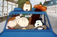 """<p><b>Paramount+'s Description:</b> """"Charlie Brown, Lucy, Linus and the rest are exchange students this time out, taking in the sights of England and France. Charlie Brown's dog Snoopy finds himself competing at the Wimbledon tennis championship, shortly before everyone moves on to the Continent. In France, the gang is ensconced in a lavish chateau thanks to an unseen benefactor.""""</p> <p><a href=""""https://www.paramountplus.com/movies/peanuts-bon-voyage-charlie-brown-and-dont-come-back/vGYMDWBAZ_9R7_mW1fyMxbhtEpRA1w_h/"""" class=""""link rapid-noclick-resp"""" rel=""""nofollow noopener"""" target=""""_blank"""" data-ylk=""""slk:Watch Bon Voyage, Charlie Brown on Paramount+ here!"""">Watch <strong>Bon Voyage, Charlie Brown</strong> on Paramount+ here!</a></p>"""