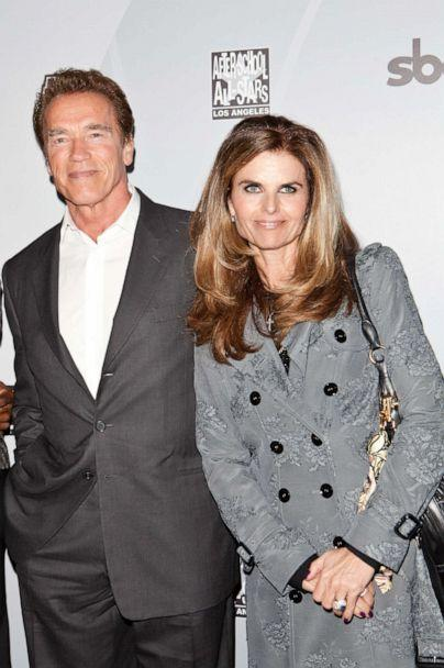 PHOTO: Arnold Schwarzenegger and Maria Shriver arrive at After-School All-Stars Hoop Heroes Salute launch party at Katsuya on February 18, 2011 in Los Angeles, California. (Chelsea Lauren/FilmMagic/Getty Images)