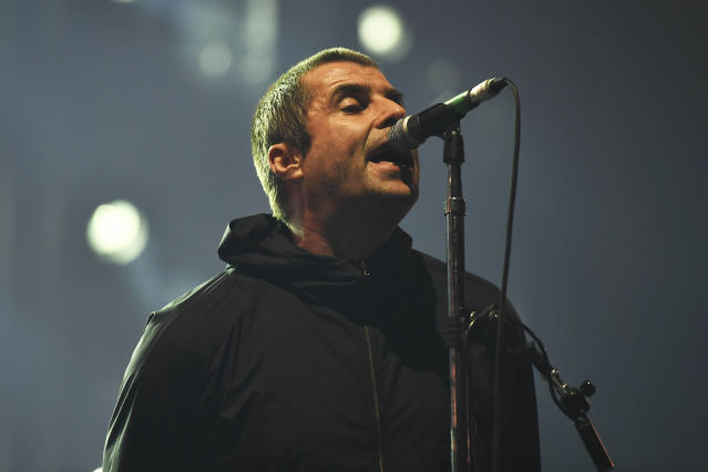 Liam Gallagher leaked his headline slot back in November (AP)