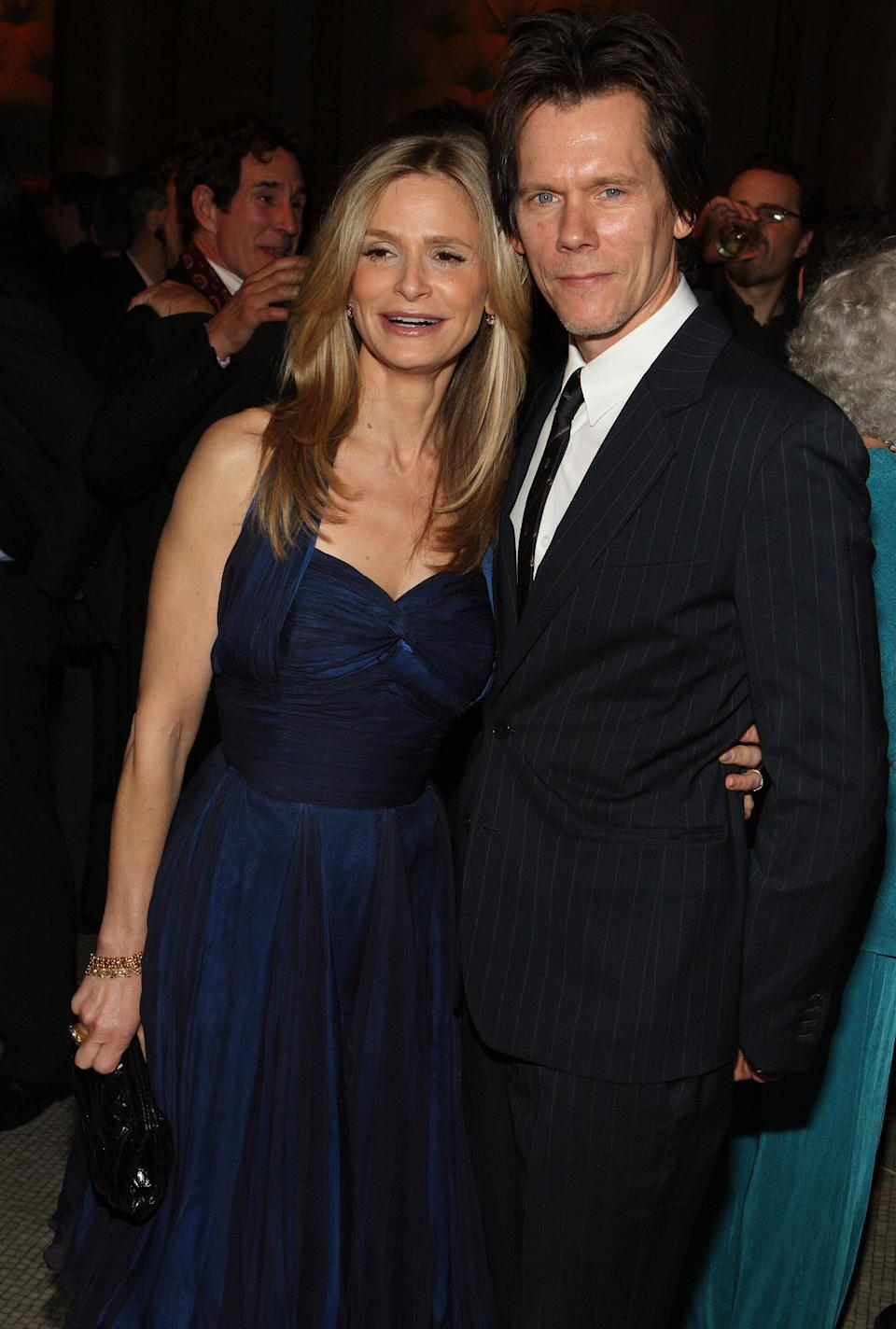 The couple attends the 2008 New York Stage and Film Gala at Capitale in New York City.