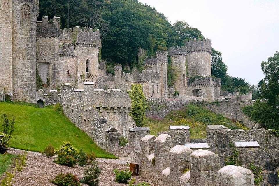 Gwyrch Castle is the current home of I'm A Celebrity (Photo: Christopher Furlong via Getty Images)
