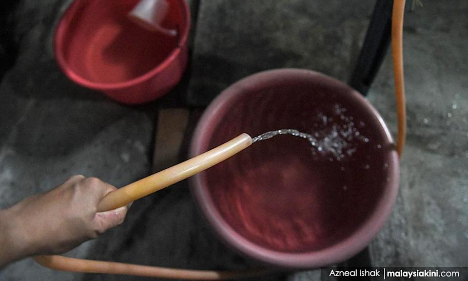 Early notice for Klang Valley water cuts