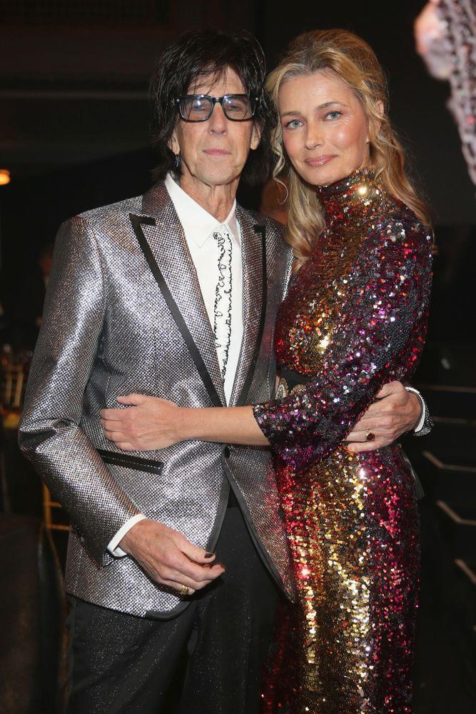 Ric Ocasek and Paulina Porizkova | Kevin Kane/Getty Images For The Rock and Roll Hall of Fame