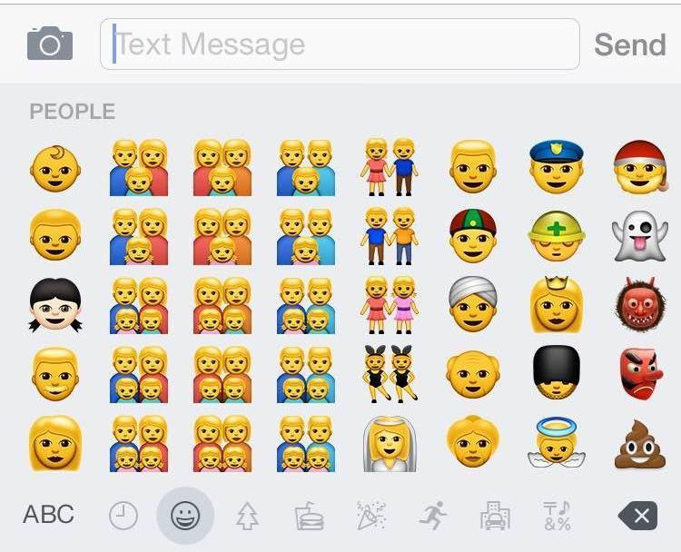 It's official: the new racially-diverse emojis are out