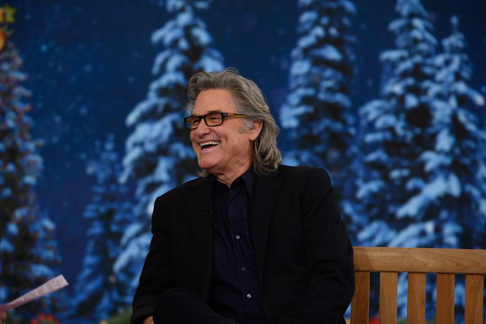 Kurt Russell on 'The Today Show' on Monday, November 12, 2018. (Photo by: Nathan Congleton/NBCU Photo Bank/NBCUniversal via Getty Images)