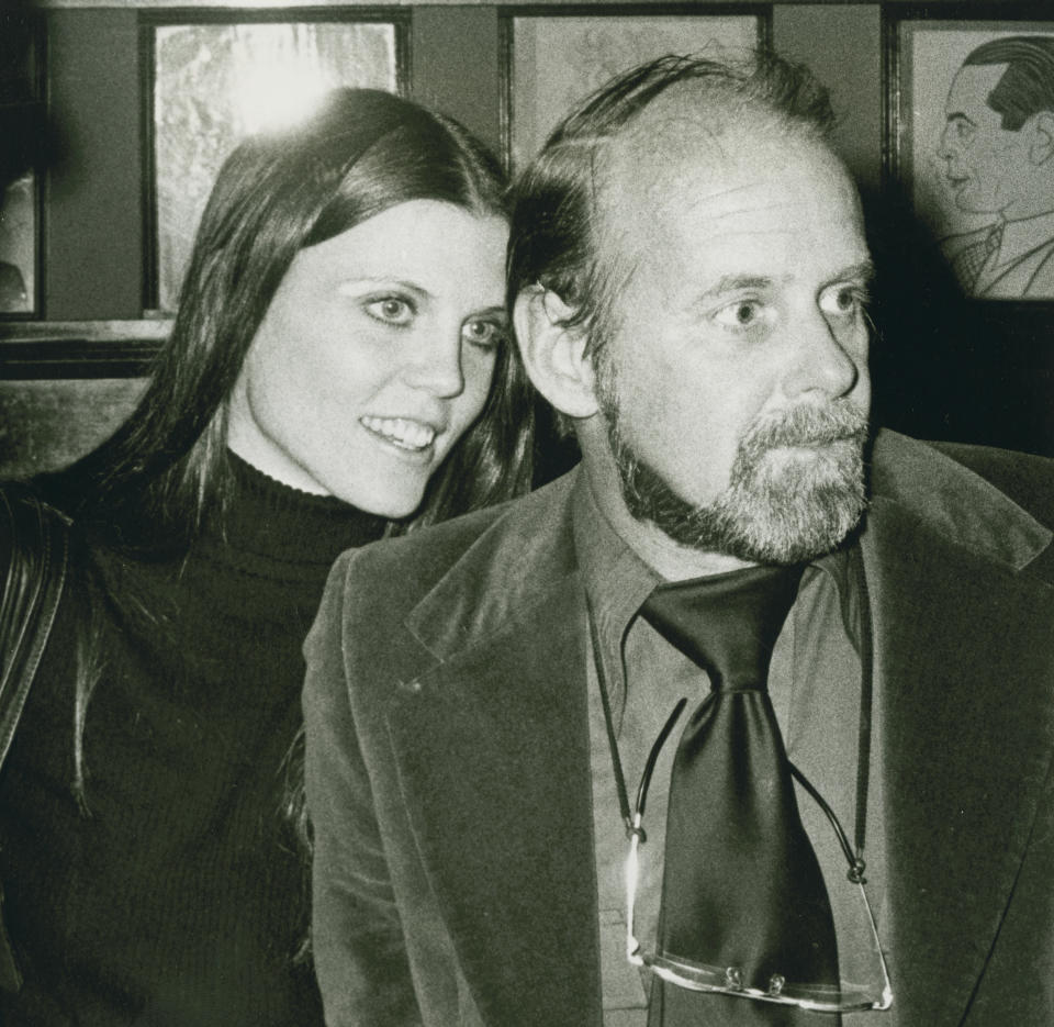 NEW YORK CITY - JANUARY 26:  Actress Ann Reinking and director Bob Fosse attend Francis Ford Coppola Awards on January 26, 1975 at Sardi's Resaurant in New York City. (Photo by Ron Galella/Ron Galella Collection via Getty Images)
