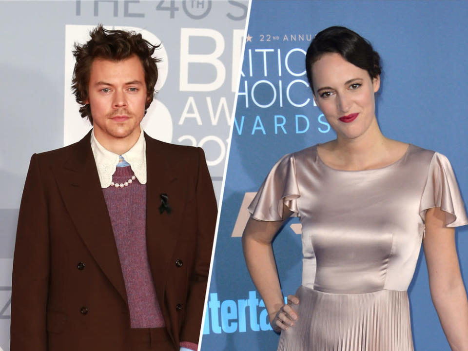 Harry Styles bekommt Unterstützung von Schauspielerin Phoebe Waller-Bridge. (Bild: [M] Cubankite / Shutterstock.com / Featureflash Photo Agency)