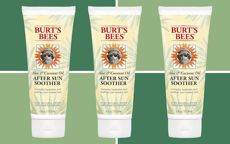 Burt's Bees Aloe & Coconut Oil After Sun Soother