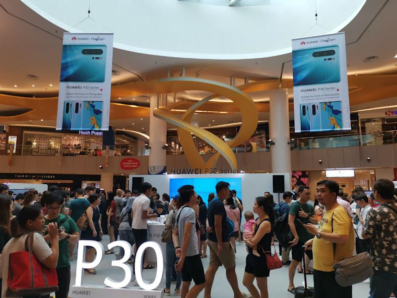 Huawei P30 Series sold out before noon in Singapore during