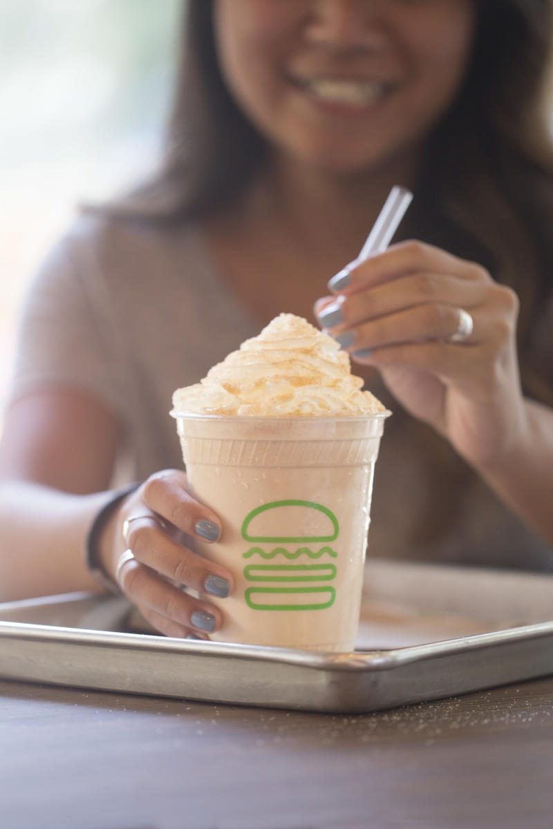 "The ""Will & Grace"" milkshake  (Shake Shack/NBC)"