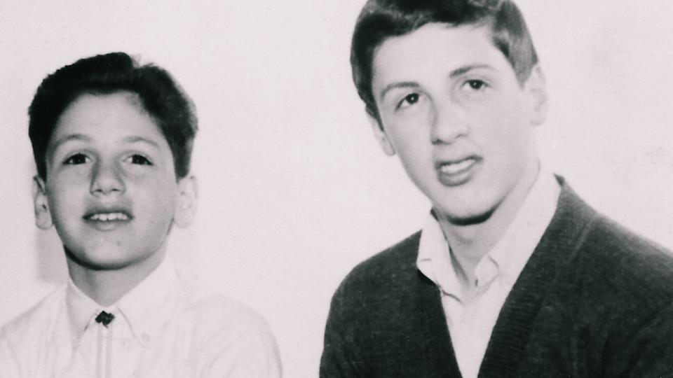 Frank and Sylvester Stallone in their younger years (Photo: Branded Studios)