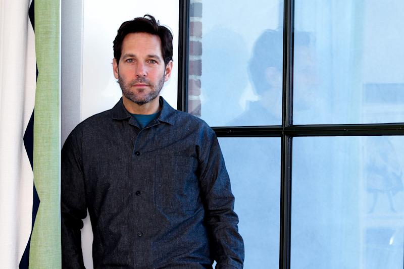 Actor Paul Rudd stars in the Netflix comedy series 'Living With Yourself,' in which he plays a hapless husband and his idealized clone after a mixup.
