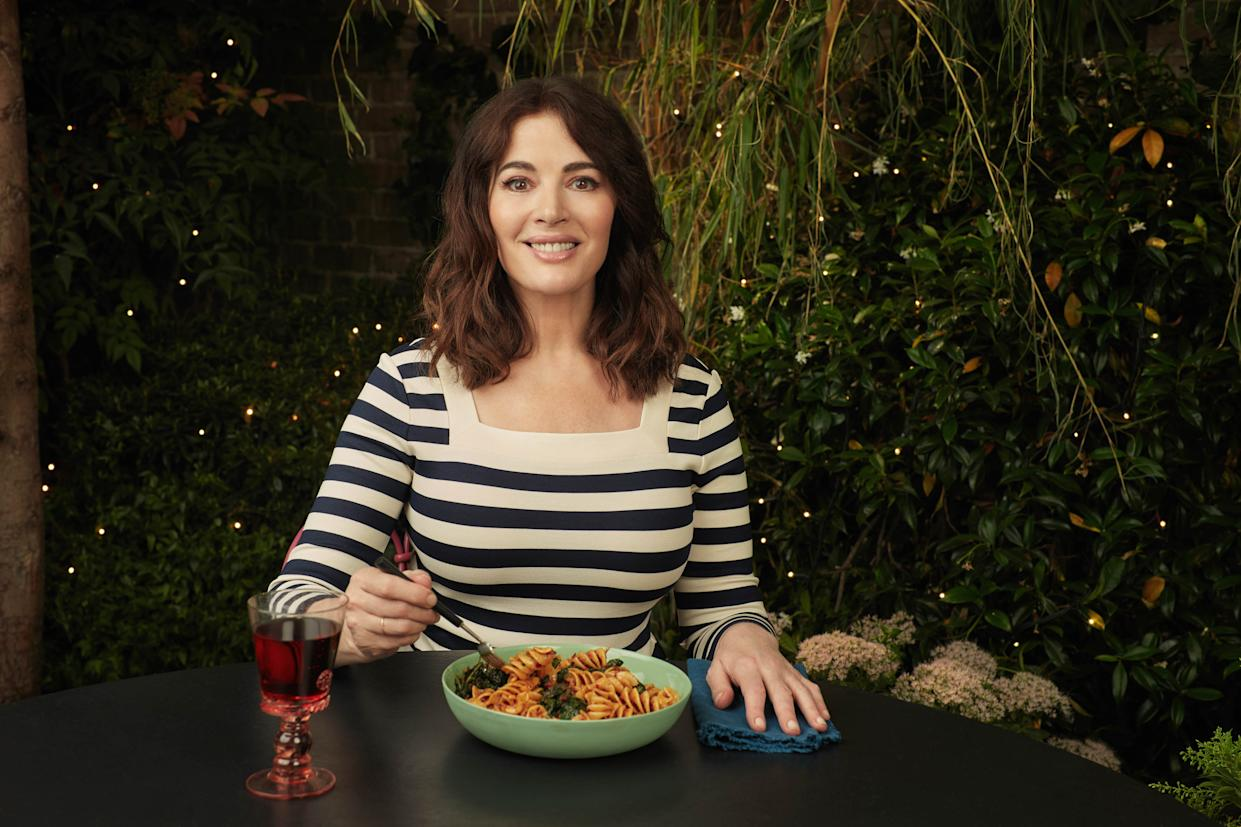 Nigella Lawson revealed what she calls the microwave on 'Cook, Eat, Repeat'. (BBC)