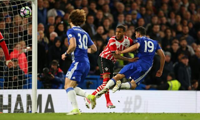 "<span class=""element-image__caption"">Diego Costa proves his worth with Chelsea's third goal againts Southampton. 'For me, he is the best striker in the world,' says Antonio Conte.</span> <span class=""element-image__credit"">Photograph: Catherine Ivill - AMA/Getty Images</span>"