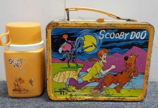 <p>You basically weren't cool if you didn't pack your lunch in a metal lunchbox. Most of these also came with a matching thermos for your drink, and you could get them in so many different designs - it was always fun to pick them out. Now, if kids bring lunch, they use soft lunch bags or the fancy ones that can also act as ice packs. </p>
