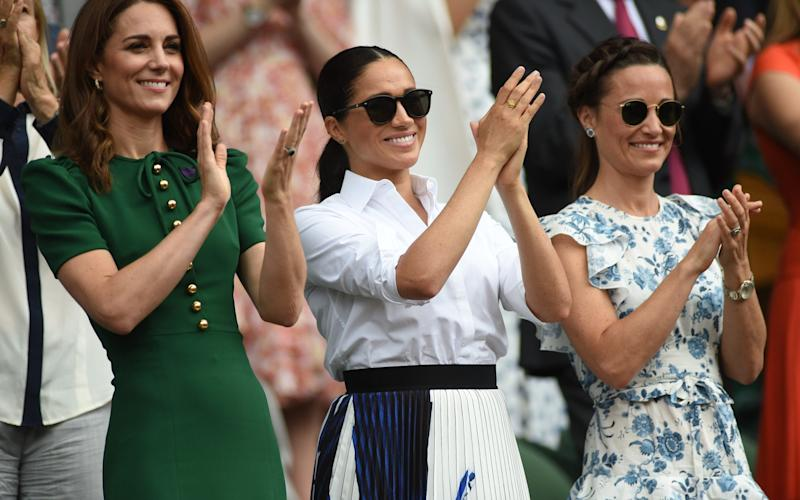 Simona Halep enjoyed being cheered on by the Duchess of Cambridge - eddie_mulholland@hotmail.com
