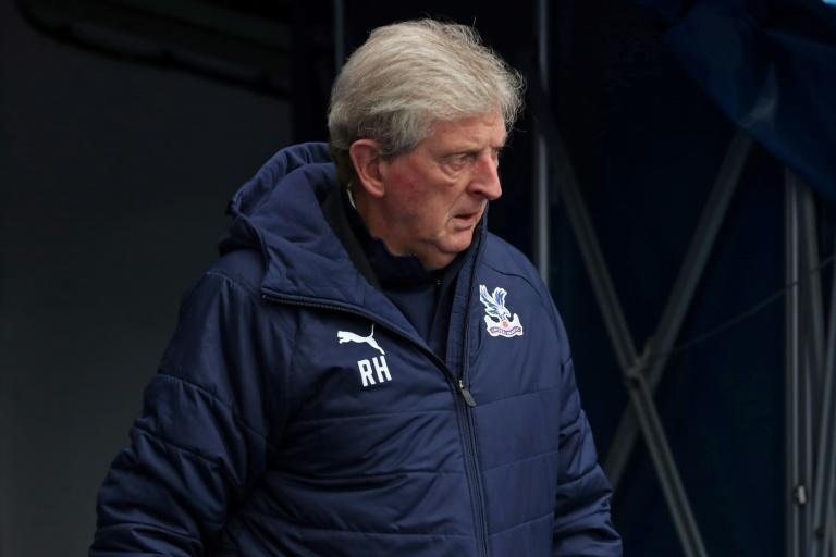 Despair: Crystal Palace manager Roy Hodgson believes a spate of penalties for handball is ruining football