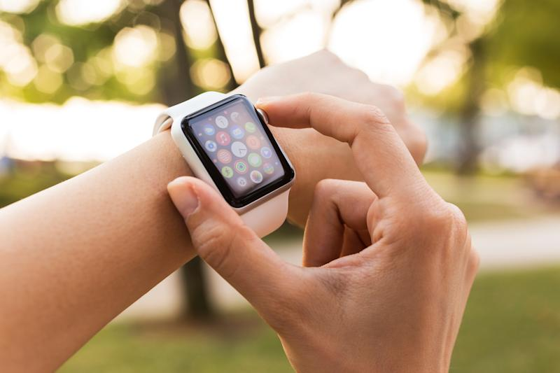 Apple Watches are on mega-sale right now at Walmart. (Photo: Getty)