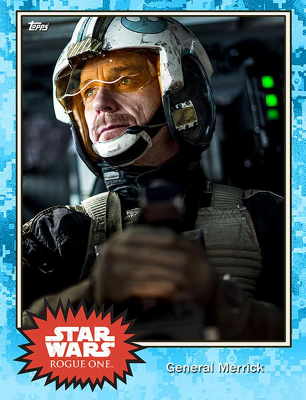 General Merrick is a character we haven't met before in Star Wars lore, although fans spotted actor Ben Daniels in the Rogue One behind-the-scenes footage from Celebration, cackling with glee as he settled into the cockpit to shoot a scene. One thing you can say for the Rebellion — their generals get right into the thick of battle.