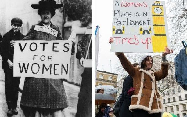 Women's rights have advanced since suffrage, but there's still a long way to go