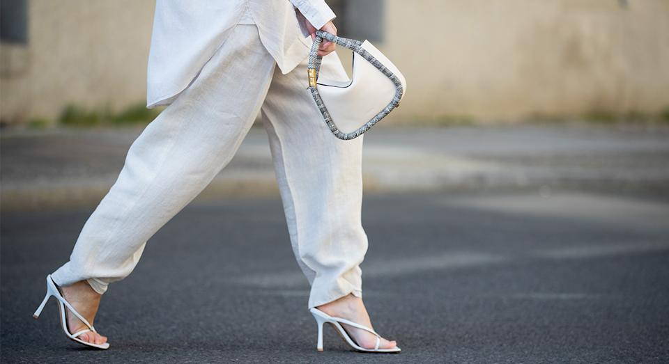 Loose fitting trousers are always in fashion - especially in summer.  (Getty Images)