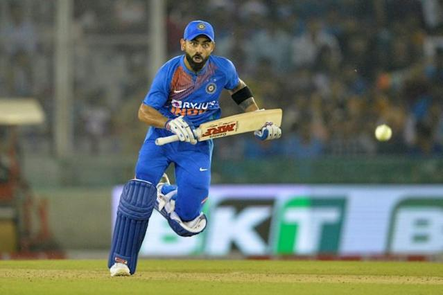 India captain Virat Kohli help guide his side to a seven-wicket T20I win over South Africa (AFP Photo/Sajjad HUSSAIN)