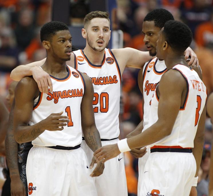 huge discount 668ef b5f8a Syracuse honors Pearl Washington with sweet throwback jerseys